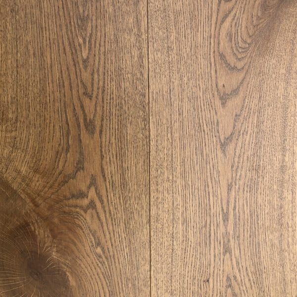 European White Oak - Engineered Hardwood - Lightly Wire Brushed - CF1032125