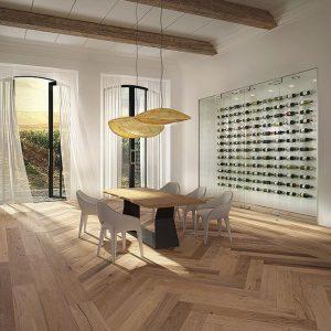 Divine Flooring Herringbone Collection